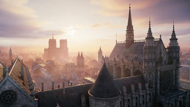 Notre Dame de Paris dans AC unity