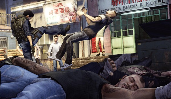 Sleeping Dogs combat sur playstion 4