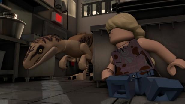 Lego Jurassic World comme dans le film