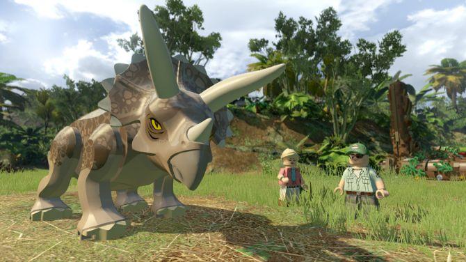 redecouvrez des passages du film dans Lego Jurassic World