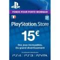 Code 15€ PSN France