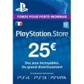 Code 25€ PSN France