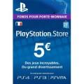 Code 5€ PSN France
